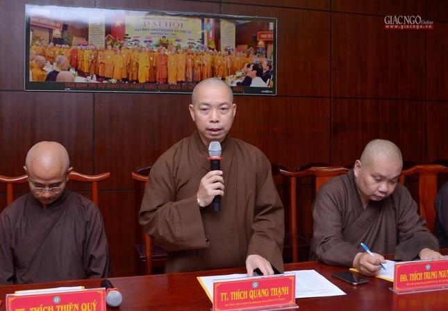 TP.HCM: Ban Thường trực Ban Trị sự thảo luận, thống nhất nhiều Phật sự quan trọng ảnh 5