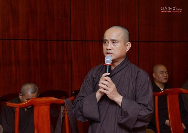 TP.HCM: Ban Thường trực Ban Trị sự thảo luận, thống nhất nhiều Phật sự quan trọng ảnh 7