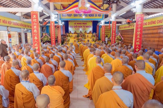 Đồng Tháp: Trang nghiêm khai mạc Đại giới đàn Từ Nhơn Phật lịch 2564 ảnh 6