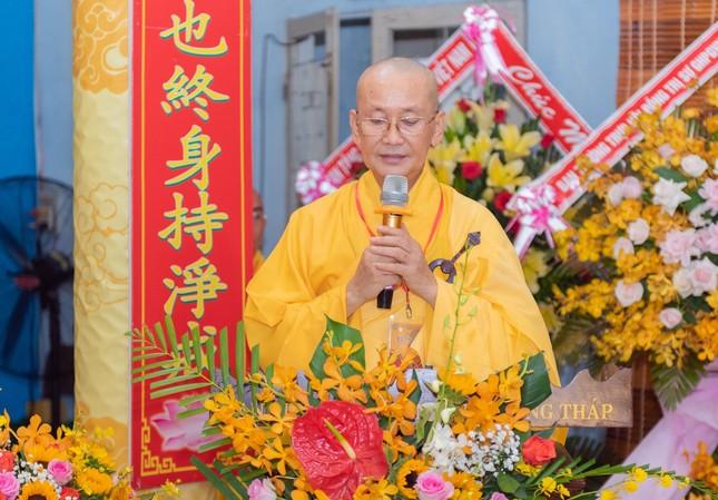 Đồng Tháp: Trang nghiêm khai mạc Đại giới đàn Từ Nhơn Phật lịch 2564 ảnh 2