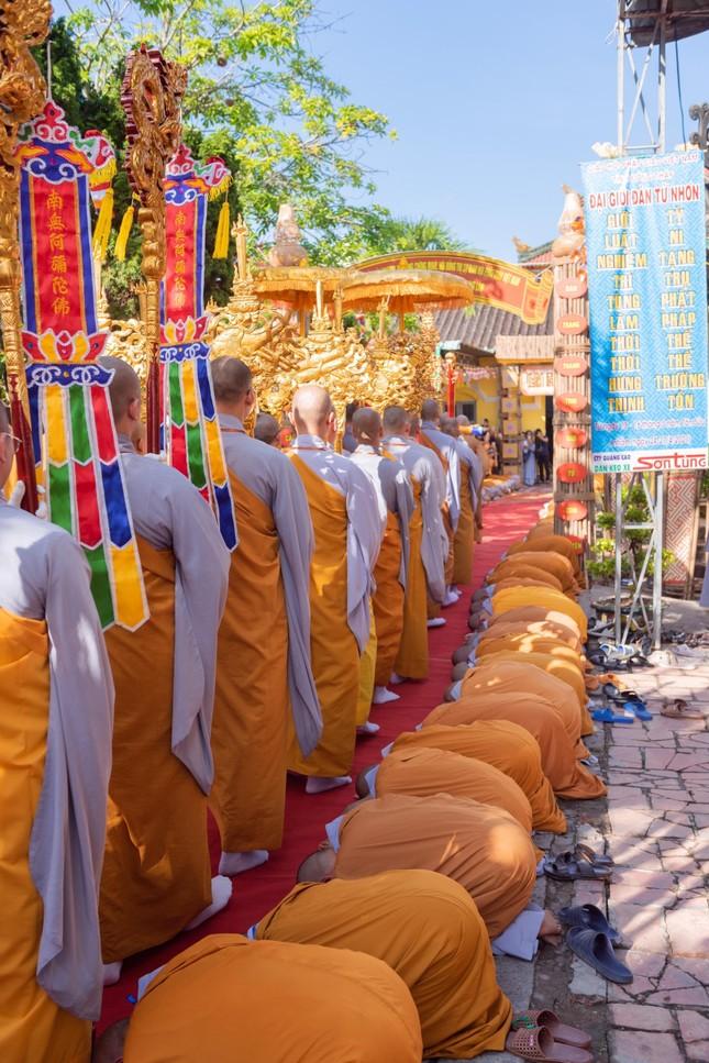 Đồng Tháp: Trang nghiêm khai mạc Đại giới đàn Từ Nhơn Phật lịch 2564 ảnh 13