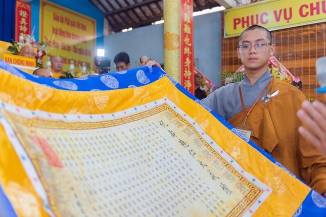 Đồng Tháp: Trang nghiêm khai mạc Đại giới đàn Từ Nhơn Phật lịch 2564 ảnh 4