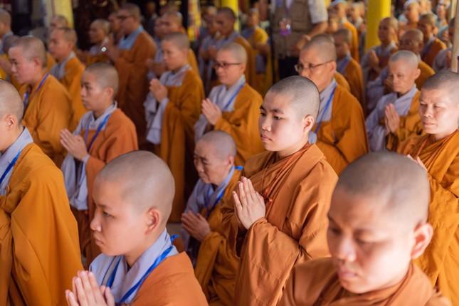 Đồng Tháp: Trang nghiêm khai mạc Đại giới đàn Từ Nhơn Phật lịch 2564 ảnh 14