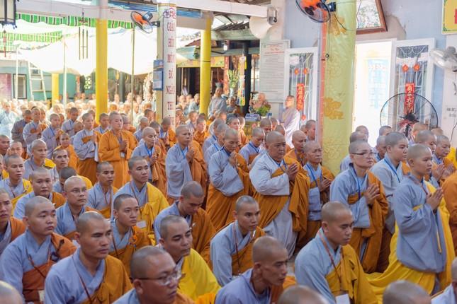 Đồng Tháp: Trang nghiêm khai mạc Đại giới đàn Từ Nhơn Phật lịch 2564 ảnh 16
