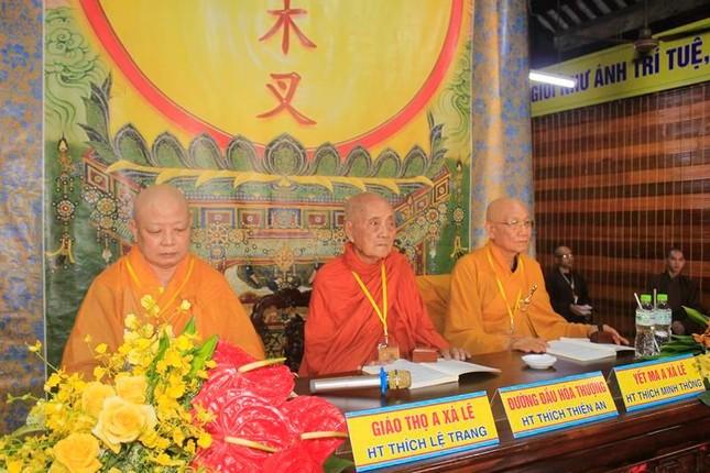 Đồng Tháp: Đại giới đàn Từ Nhơn Phật lịch 2564 truyền giới cho giới tử ảnh 2