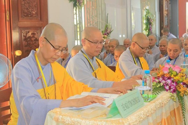 Đồng Tháp: Đại giới đàn Từ Nhơn Phật lịch 2564 truyền giới cho giới tử ảnh 4