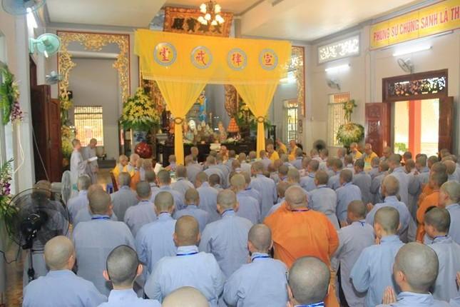 Đồng Tháp: Đại giới đàn Từ Nhơn Phật lịch 2564 truyền giới cho giới tử ảnh 8