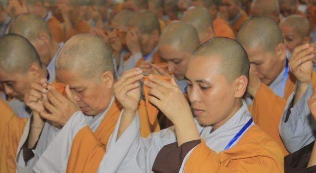 Đồng Tháp: Đại giới đàn Từ Nhơn Phật lịch 2564 truyền giới cho giới tử ảnh 7