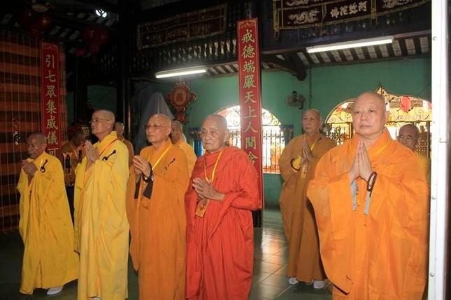Đồng Tháp: Đại giới đàn Từ Nhơn Phật lịch 2564 truyền giới cho giới tử ảnh 1