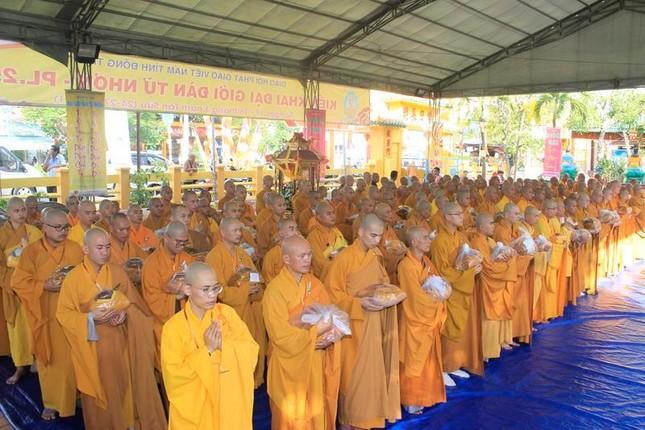 Đồng Tháp: Đại giới đàn Từ Nhơn Phật lịch 2564 truyền giới cho giới tử ảnh 6