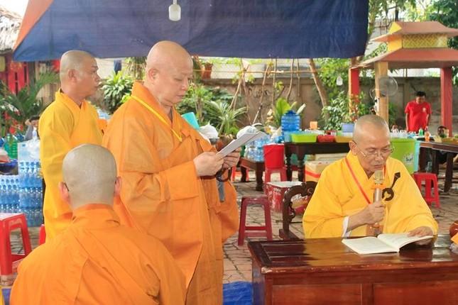 Đồng Tháp: Đại giới đàn Từ Nhơn Phật lịch 2564 truyền giới cho giới tử ảnh 5