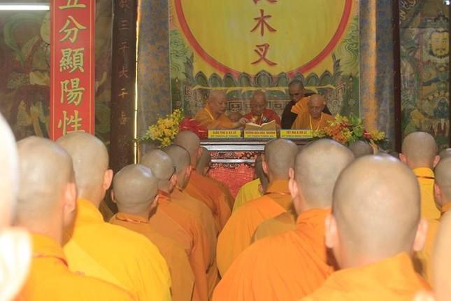 Đồng Tháp: Đại giới đàn Từ Nhơn Phật lịch 2564 truyền giới cho giới tử ảnh 3