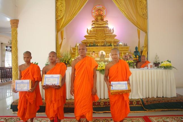 Kiên Giang: Trường Trung cấp Pali - Khmer tỉnh khai giảng năm học 2021-2022 ảnh 2