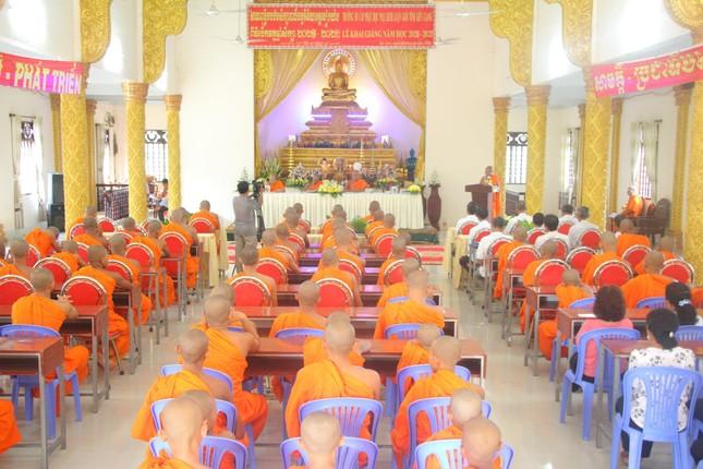 Kiên Giang: Trường Trung cấp Pali - Khmer tỉnh khai giảng năm học 2021-2022 ảnh 4