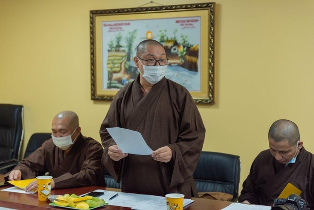 Thường trực Ban Thông tin - Truyền thông Phật giáo TP.HCM họp, thảo luận hoạt động ảnh 7