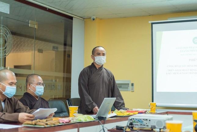 Thường trực Ban Thông tin - Truyền thông Phật giáo TP.HCM họp, thảo luận hoạt động ảnh 1