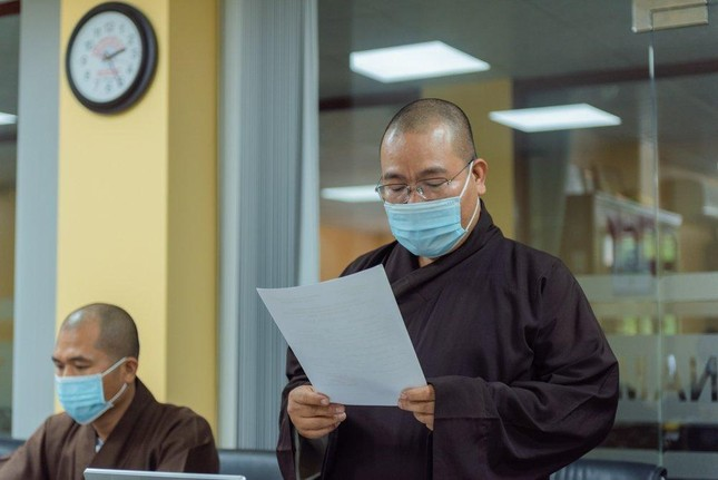 Thường trực Ban Thông tin - Truyền thông Phật giáo TP.HCM họp, thảo luận hoạt động ảnh 2