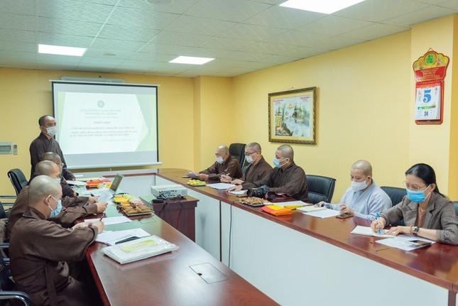 Thường trực Ban Thông tin - Truyền thông Phật giáo TP.HCM họp, thảo luận hoạt động ảnh 9