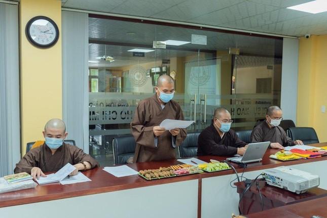 Thường trực Ban Thông tin - Truyền thông Phật giáo TP.HCM họp, thảo luận hoạt động ảnh 8