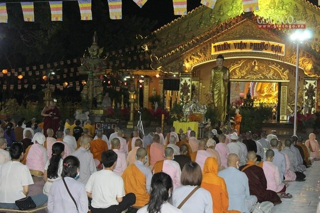 Đồng Nai: Thiền viện Phước Sơn khai giảng khóa tu học mở rộng 3 ngày ảnh 4