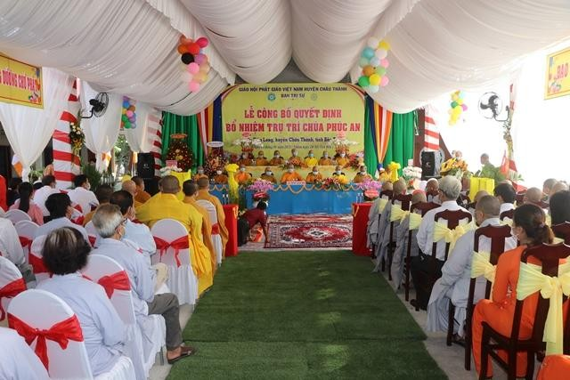 Lễ trao quyết định bổ nhiệm trụ trì chùa Phúc An ảnh 3