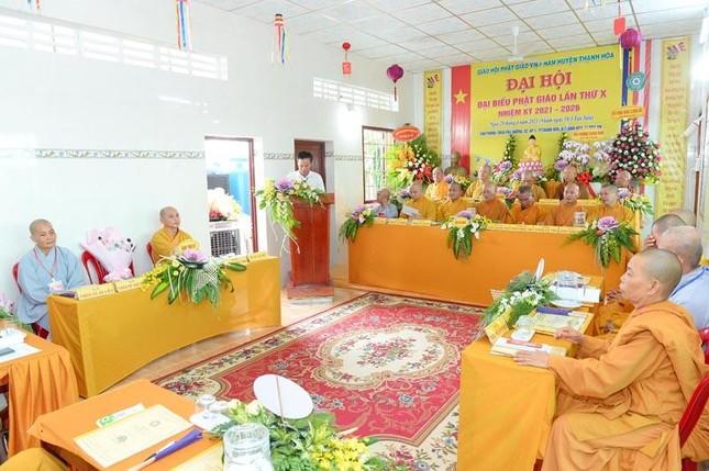 Long An: Đại đức Thích Lệ Ngôn làm Trưởng ban Trị sự Phật giáo huyện Thạnh Hóa ảnh 2