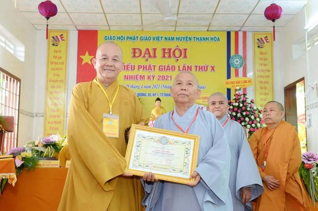 Long An: Đại đức Thích Lệ Ngôn làm Trưởng ban Trị sự Phật giáo huyện Thạnh Hóa ảnh 1