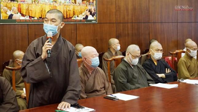 Sẽ triển lãm hình ảnh thành tựu Phật sự nổi bật trong 40 năm của Giáo hội TP.HCM ảnh 9