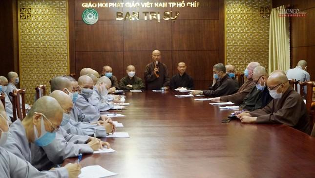 Sẽ triển lãm hình ảnh thành tựu Phật sự nổi bật trong 40 năm của Giáo hội TP.HCM ảnh 6