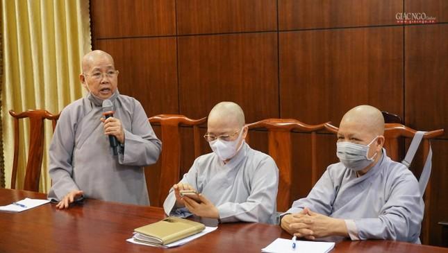 Sẽ triển lãm hình ảnh thành tựu Phật sự nổi bật trong 40 năm của Giáo hội TP.HCM ảnh 13