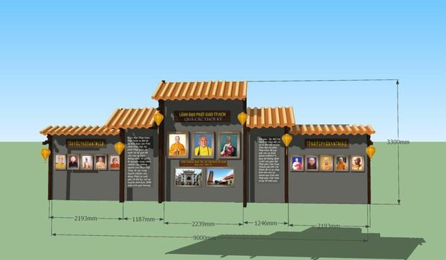 Sẽ triển lãm hình ảnh thành tựu Phật sự nổi bật trong 40 năm của Giáo hội TP.HCM ảnh 5
