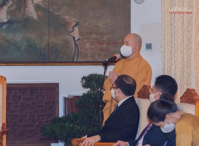 Chủ tịch nước Nguyễn Xuân Phúc tiếp chư tôn đức lãnh đạo cao cấp GHPGVN ảnh 2