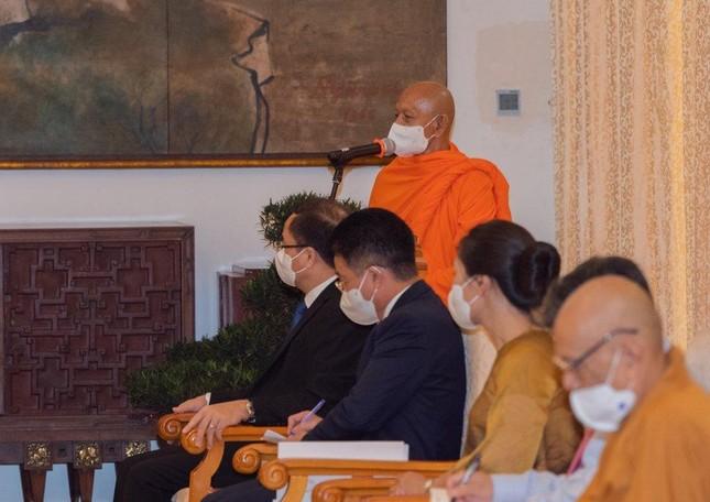 Chủ tịch nước Nguyễn Xuân Phúc tiếp chư tôn đức lãnh đạo cao cấp GHPGVN ảnh 3