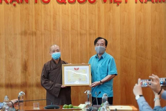 Hà Nội: Phật giáo chung tay bảo vệ môi trường và ứng phó với biến đổi khí hậu ảnh 3