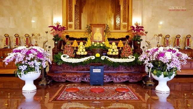 Lễ tưởng niệm Bồ-tát Thích Quảng Đức vị pháp thiêu thân, tại Việt Nam Quốc Tự tổ chức nội bộ