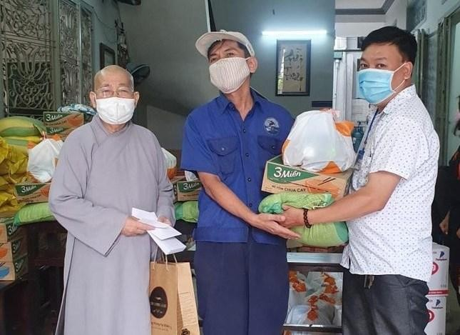 Chùa Phước Viên với nhiều hoạt động từ thiện trong mùa dịch bệnh Covid-19 ảnh 1