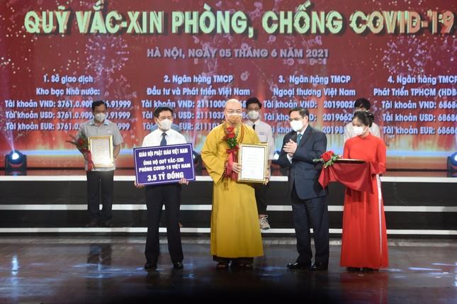 Trung ương GHPGVN kêu gọi thành viên Hội đồng Trị sự đóng góp mua vắc-xin Covid-19 ảnh 1