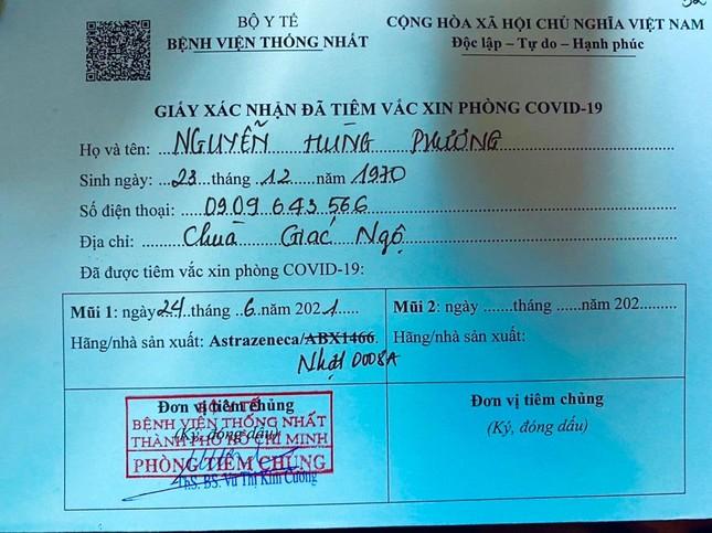 50 vị Tăng Ni Ban Trị sự Phật giáo TP.HCM tiêm mũi 1 vắc-xin phòng Covid-19 ảnh 2
