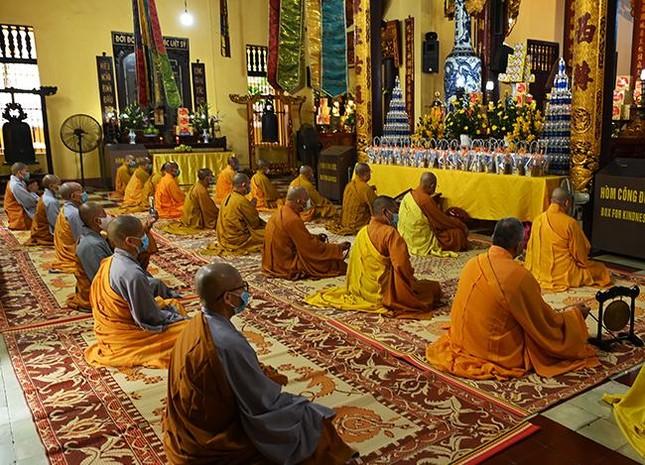 Hà Nội: Chùa Quán Sứ tổ chức tác pháp An cư kiết hạ Phật lịch 2565 ảnh 5