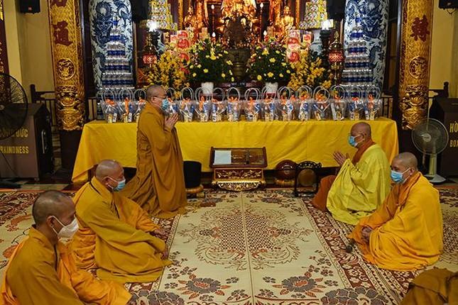Hà Nội: Chùa Quán Sứ tổ chức tác pháp An cư kiết hạ Phật lịch 2565 ảnh 2