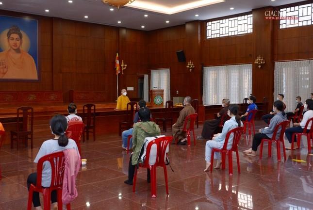 23 tình nguyện viên Phật giáo đến Bệnh viện Dã chiến thu dung và điều trị Covid-19 số 10 ảnh 5