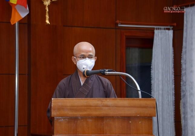 23 tình nguyện viên Phật giáo đến Bệnh viện Dã chiến thu dung và điều trị Covid-19 số 10 ảnh 2