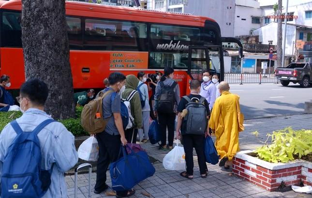 23 tình nguyện viên Phật giáo đến Bệnh viện Dã chiến thu dung và điều trị Covid-19 số 10 ảnh 14