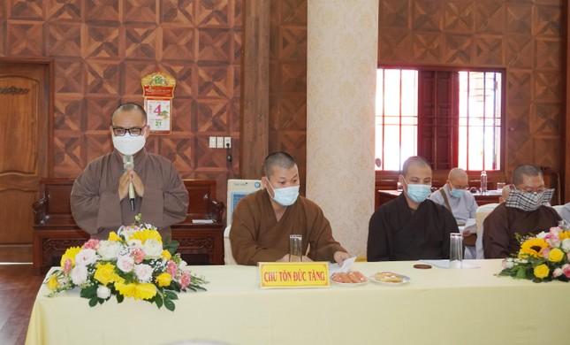 Phật giáo quận 3 họp định kỳ quý 1 và triển khai đại hội ảnh 1