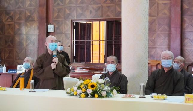 Phật giáo quận 3 họp định kỳ quý 1 và triển khai đại hội ảnh 3