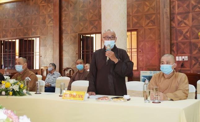 Phật giáo quận 3 họp định kỳ quý 1 và triển khai đại hội ảnh 2