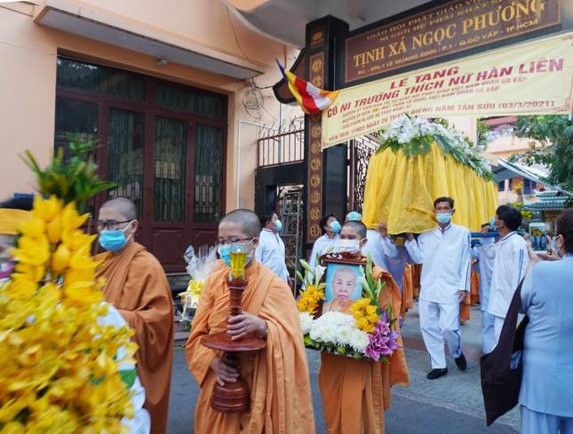 Lễ truy niệm, phụng tống kim quan Ni trưởng Hàn Liên trà-tỳ ảnh 8
