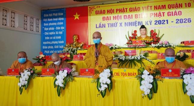Phiên trù bị đại hội Phật giáo quận 10 nhiệm kỳ 2021-2026 ảnh 2