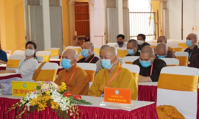 Phiên trù bị đại hội Phật giáo quận 10 nhiệm kỳ 2021-2026 ảnh 9