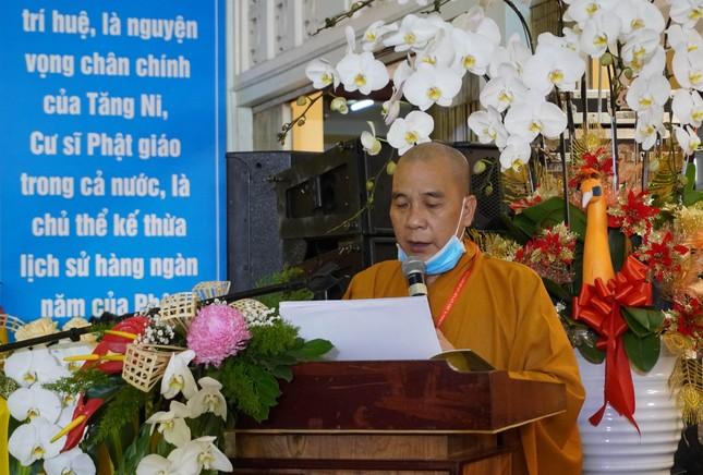 Phiên trù bị đại hội Phật giáo quận 10 nhiệm kỳ 2021-2026 ảnh 6